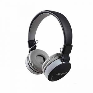 MS- 771 Bluetooth Headphone,Over the Ear with TF and AUX Slot grey