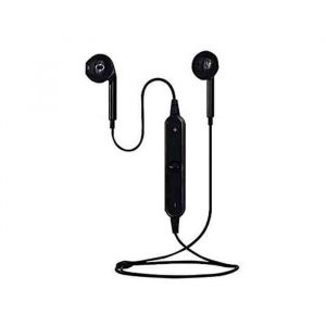 S6 Bluetooth Wireless In Ear Earphone Headset black
