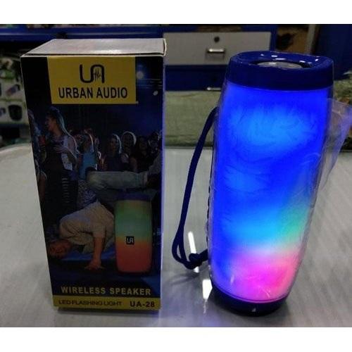 Urban Audio Rhythemic Lighting Wireless Bluetooth Speaker UA28, Red