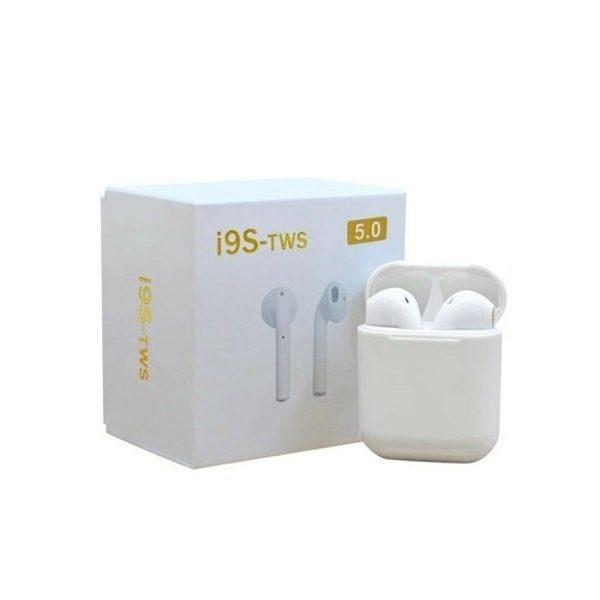 i9s TWS 5.0 True Wireless Bluetooth Earphones 2 Way Pairing