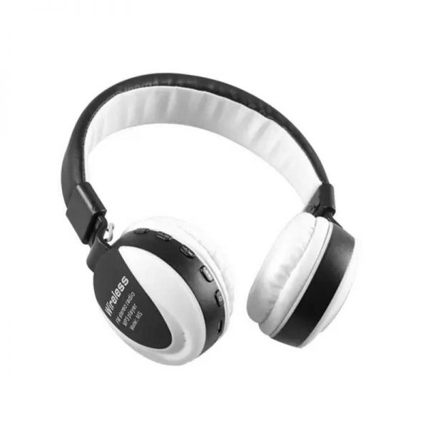 MS 771 Wireless Bluetooth Headphone white,Over the Ear