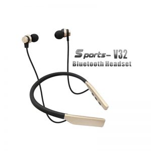 Wireless bluetoth Headphones with Microphone V32 neckband