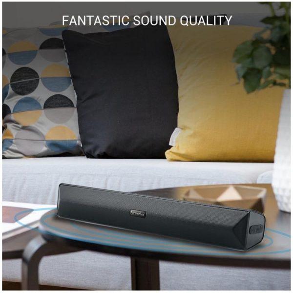 Portronics POR 891 Pure Sound Pro All in One Wireless Soundbar 1 Year Warranty