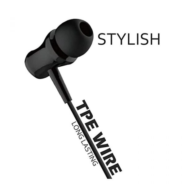 Dvaio (EP01) Champ Series Earphones with Mic High Bass1-min