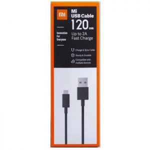 Mi Data & Charging Micro USB Cable ( 1.2 m , Black )