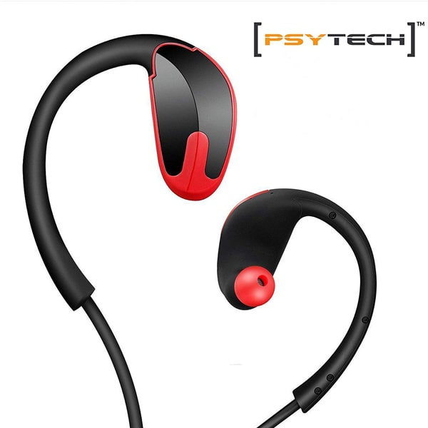 PSYTECH R8 Sport Bluetooth Headset with mic RED