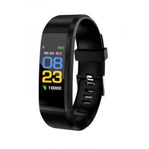 D115 Smart Fitness Watch Tracker Health Band -black (Universal Size)