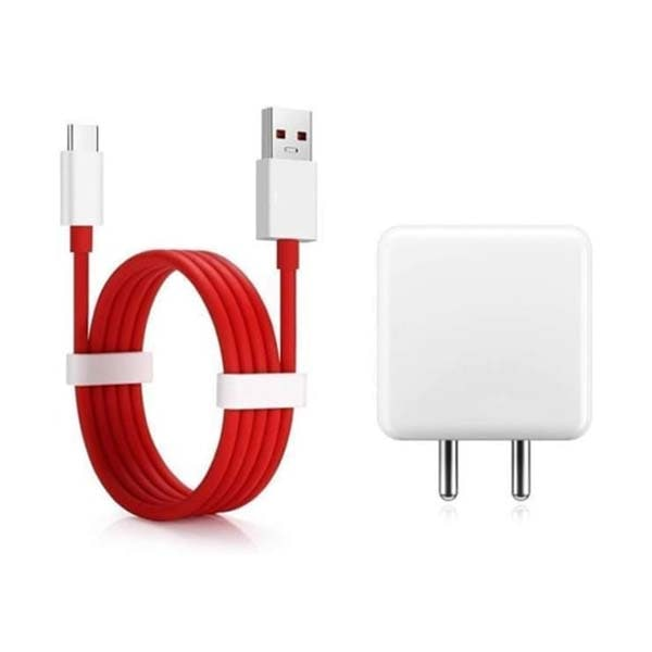 Dash Power Charger 5V 4A Adapter with Type C USB Dash Fast Charging Cable 5 A Mobile Charger with Detachable Cable (Red)