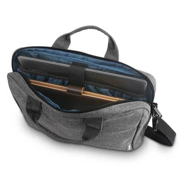 Lenovo Casual Laptop Briefcase T210 (Toploader) 15.6-inch Water Repellent Grey