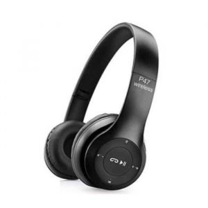 P47 HD Sound Wireless Headphones Foldable Bluetooth Headphones with Mic