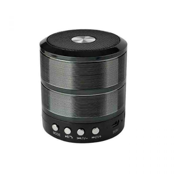 WS 887 Mini Multifunction Bluetooth Speaker black