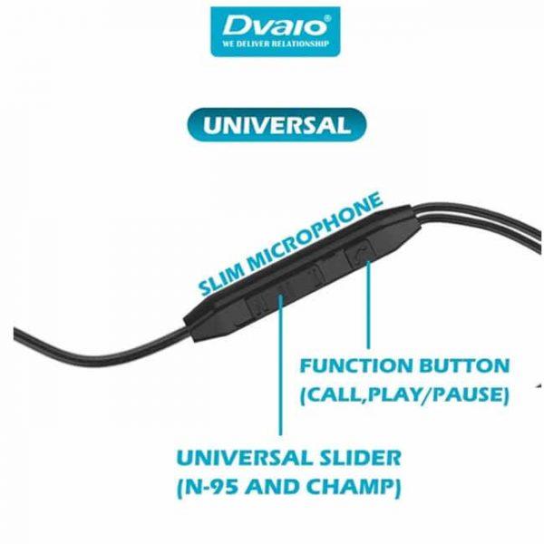 Dvaio wire earphone D30 Handsfree