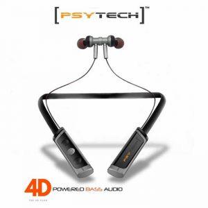 PSYTECH 4D Heavy Bass Neck Band Style bluetooth neckband 4d sound