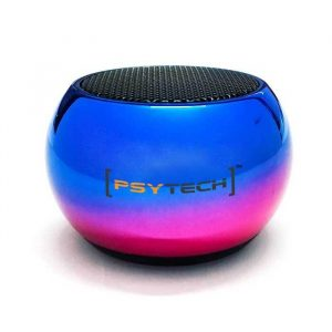 Psytech Neochrome Edition Bluetooth Speaker Mini Portable With High Bass And Mic