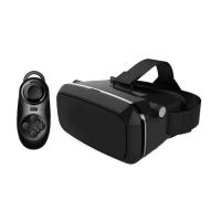 3D VR Box with Joystick (Remote) 3 Months Warranty -Black