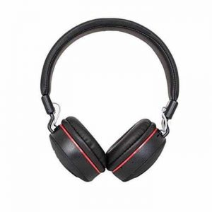 MS 771 HD Dolby Sound Wireless Foldable Bluetooth Headphone With Calling Mic Black -