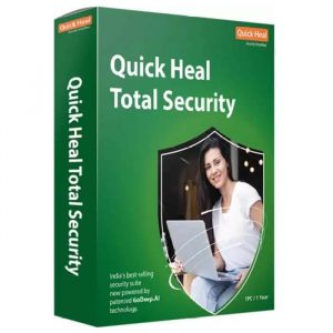 QUICK HEAL Anti Virus Total Security 3 User With 1 Year Subscription Validity