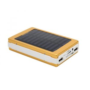 callmate powerbank Solar LED 2A Output Power Bank 20000mAh with Dual USB Port